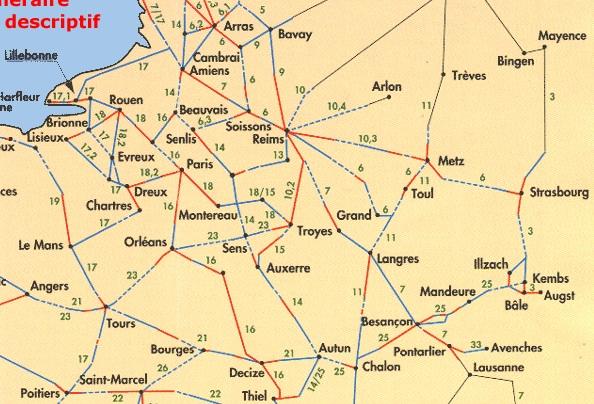 voies romaines